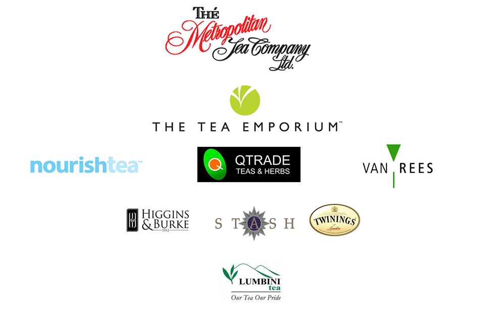 Sponsors of the Tea and Herbal Association of Canada